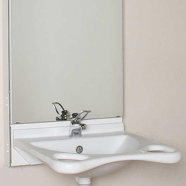waschbeckens 65 90 cm mit spiegel 60 x 100 cm und  ~ Waschbecken Höhenverstellbar