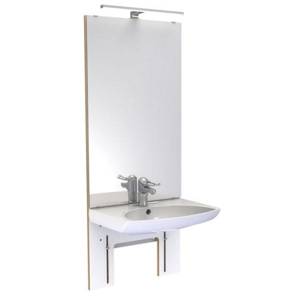 waschbecken waschtisch konsole lift lifter hoehenverstellbar. Black Bedroom Furniture Sets. Home Design Ideas