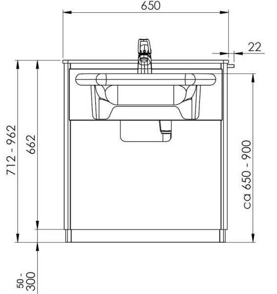 hoehenverstellbar verstellbar waschbecken waschtisch lift ~ Waschbecken Höhenverstellbar