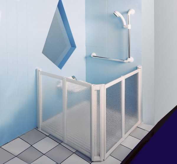 duschwand dusche trennwand rollstuhl gerecht bodengleich. Black Bedroom Furniture Sets. Home Design Ideas