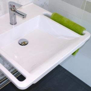 Waschbecken zeichnung  Waschbecken Waschtisch verstellbar